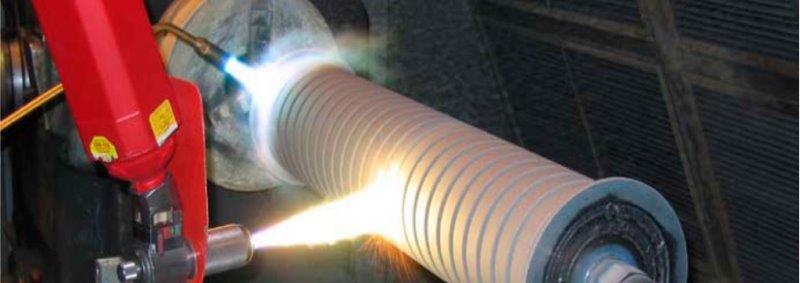 Metalização por aspersão térmica